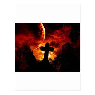 mural_gothic-cross postcard