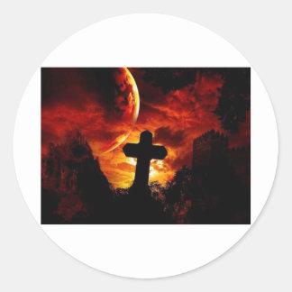 mural_gothic-cross sticker