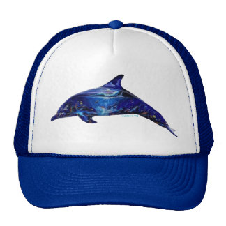 Mural In Dolphin Hat