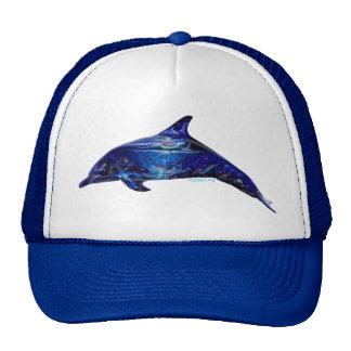 Mural In Dolphin Trucker Hat