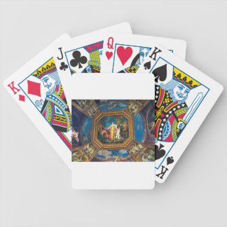 Mural in the Vatican Museum Playing Cards