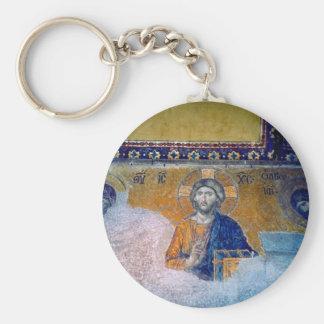 mural jesus key chains