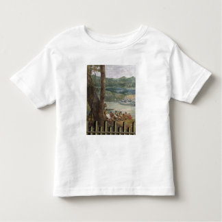 Mural painting from Drakelowe Hall, nr. Burton on Toddler T-shirt