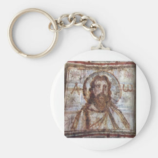 Mural painting from the catacomb of Commodilla. Keychain