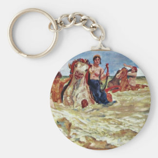 Mural Villa Albers: Sea-Gods In The Surf By Klinge Key Chains