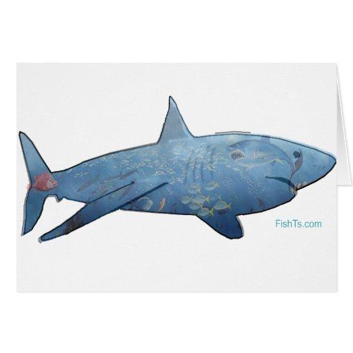Murales dentro de pescados felicitaciones