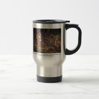 Murals For Saint-Sulpice In Paris Chapel 15 Oz Stainless Steel Travel Mug