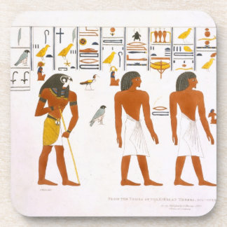Murals from the Tombs of the Kings at Thebes disc Coaster