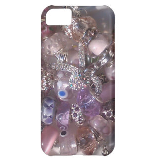 murano glass beads bracelets pandora style cover for iPhone 5C