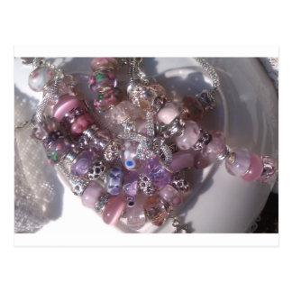 murano glass beads bracelets pandora style postcard