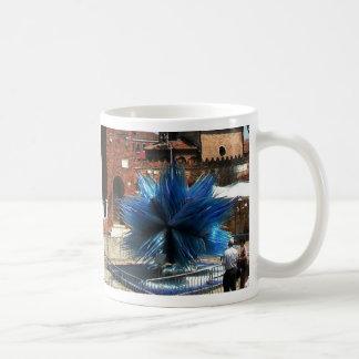 Murano, Italy Clock tower and Glass sculpture Coffee Mug