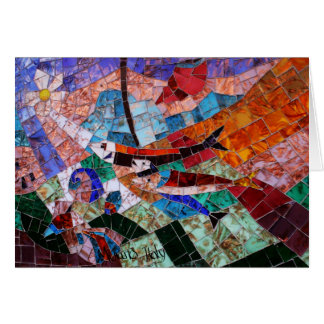 Murano Mosaic Card
