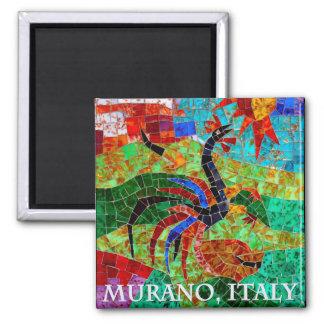 Murano Mosaic II 2 Inch Square Magnet