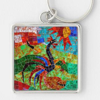 Murano Mosaic II Keychains