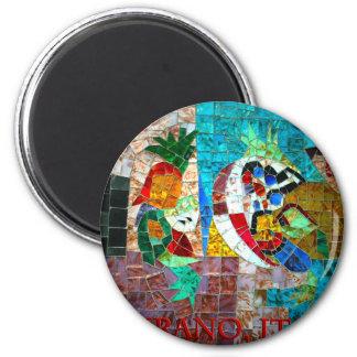 Murano Mosaic III Fridge Magnets