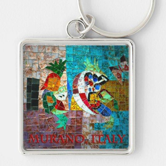 Murano Mosaic III Keychain