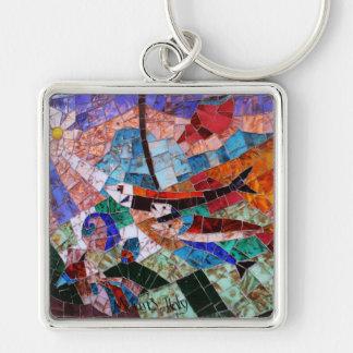 Murano Mosaic Keychain
