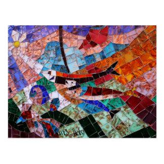 Murano Mosaic Postcard