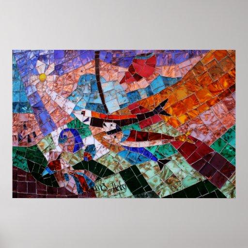 Murano Mosaic Print