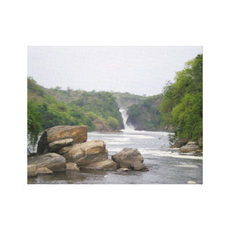 Murchison falls in the pearl of Africa Canvas Print