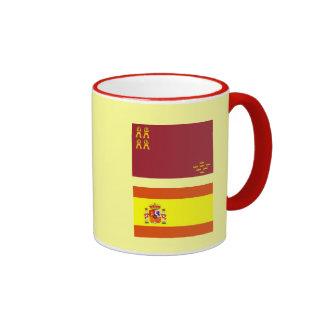 Murcia* Mug/España-Murcia Taza Ringer Coffee Mug
