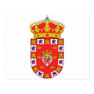 Murcia (Spain) Coat of Arms Postcard