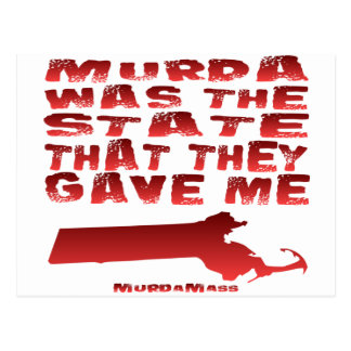 Murda Was The State That They Gave Me Postcard