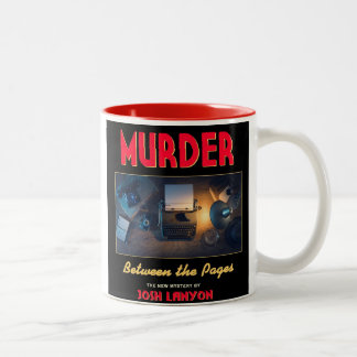 Murder Between the Pages mug