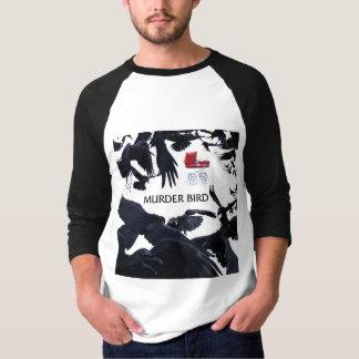 MURDER BIRD Baseball Jersey T-Shirt