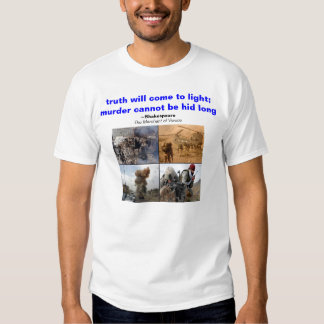 Murder can not be hid long tshirt