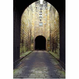 Murder Corridor, Barbican, Alnwick Castle, Northum Standing Photo Sculpture