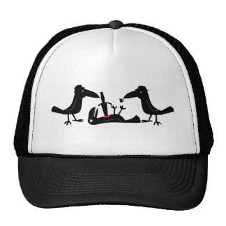 murder crows trucker hat