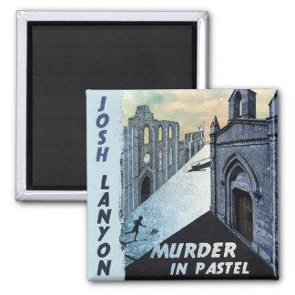 Murder in Pastel magnet