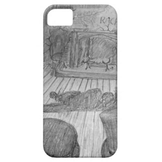 Murder in the snug. iPhone SE/5/5s case