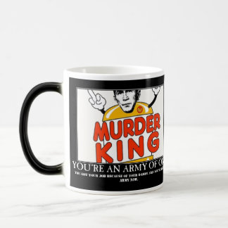 Murder King, You're an Army of One Morphing Magic Mug