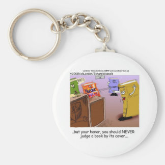 Murder Mystery Courtroom Drama Funny Tees & Gifts Keychain
