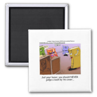 Murder Mystery Courtroom Drama Funny Tees & Gifts Magnet
