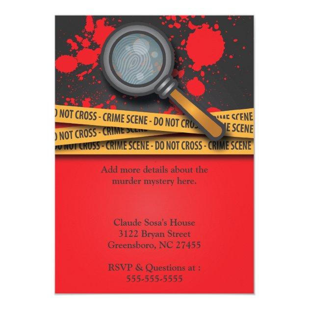 Murder Mystery Dinner Invitation for good invitation sample