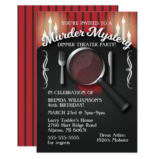 Best Murder Mystery Dinner Free: Bohemian Dinner Party Invitations ⋆ Partyinvitecards