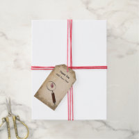 Murder Mystery Gift Tags Personalized