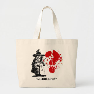 Murder Mystery Party Tote Bags Bag Whodunnit Gift