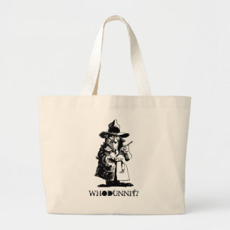 Murder Mystery Party Tote Bags Bag Whodunnit? Gift