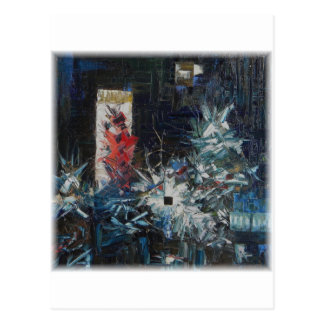 Murder Of Andreas Baader-Decomp by David Barlow Postcard