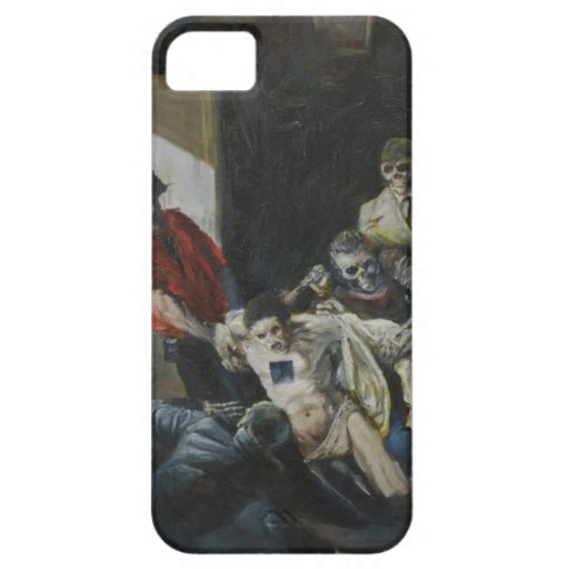 Murder Of Andreas Baader-Demonized by David Barlow iPhone 5 Cover