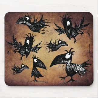 Murder of Crows Mouse Pad