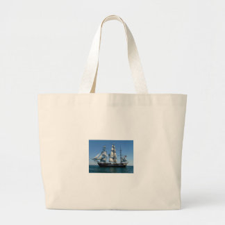 Murder On The Bounty Ship Tote Bags