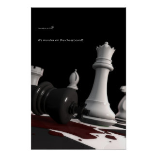 Murder on the Chessboard - Print