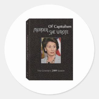 Murder Pelosi Wrote Sticker