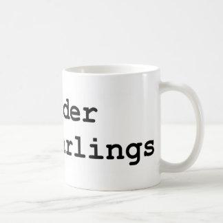 Murder your darlings coffee mug