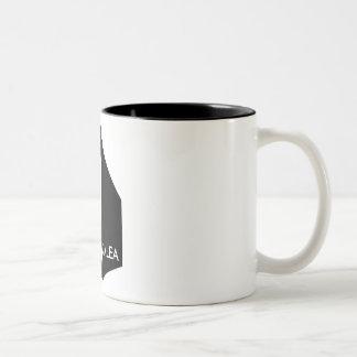 Murdercube Two-Tone Coffee Mug